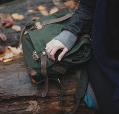 """c-runchyleaves: """" unitedbyblue: """" United By Blue Scout Backpack + Camp Like a Lady """"  autumn/halloween blog  """""""