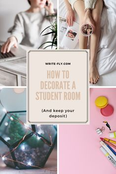 6 ways to redecorate your student room (and keep your deposit) Uni Room, College Room, Student Room, Student Life, Cool Writing, Better Writing, College Success, Baby Room Neutral, Blue Cushions
