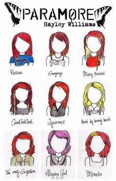 Not only can Hayley sing, but she can pull off any hairstyle.