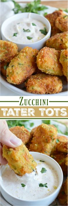 With the end of summer comes an abundance of fresh zucchini. Try this Cheesy…