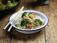 This quick stir-fry of sustainably sourced crab and organic veg has a tangy sweet and sour flavour with a fiery hint of ginger Abel And Cole, Coles Recipe, Quick Stir Fry, Broccoli Rice, Rice Vinegar, Chef Recipes, Risotto, Fries