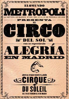 Le Cirque Du Soleil. Alegría.