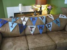 Birthday Banner Tutorial | See Mommy Sew