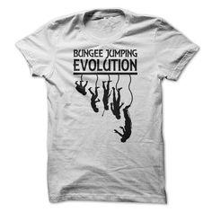 Bungee Jumping Evolution T Shirts, Hoodies, Sweatshirts. CHECK PRICE ==► https://www.sunfrog.com/LifeStyle/Bungee-Jumping-Evolution.html?41382