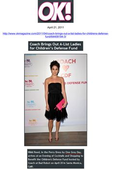 OK! Magazine April 11  Nikki Reed wearing One Grey Day's Perry Dress