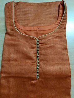 4 Chudidhar Neck Designs, Neck Designs For Suits, Neckline Designs, Dress Neck Designs, Designs For Dresses, Blouse Designs, Salwar Neck Patterns, Salwar Kameez Neck Designs, Churidar Designs