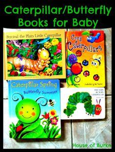 House of Burke: Baby-School: Exploring Caterpillars and Butterflies