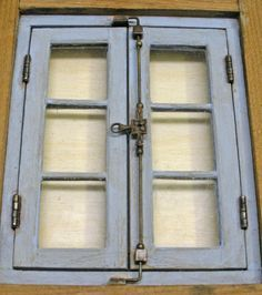 Window Latches | Karin Corbin Miniatures