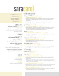 Half&Half Resume Template by ResumeDesign on Etsy