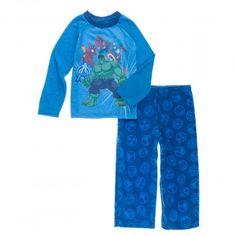 Marvel Boys 2-7 Avengers 2-Piece Sleepwear Set