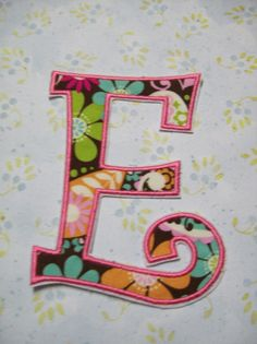 Iron On Applique  Individual Letters or by bigblackdogdesigns, $6.50