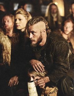 Vikings (series 2013 - ) Starring: Katheryn Winnick as Lagertha, Ragnar's wife; Travis Fimmel as Ragnar Lothbrok and Ruby O'Leary as Gyda, Ragnar and Lagertha's daughter.