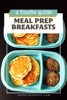 Get ready for your week wth meal prep breakfasts. Don't let the morning rush keep you or your kids from eating a healthy meal! Make Ahead Breakfast, Breakfast Cookies, Breakfast Bowls, Homemade Muffin Mix, Homemade Muffins, Freezer Smoothies, Breakfast Sandwich Recipes, Shopping Tips, Quick Snacks