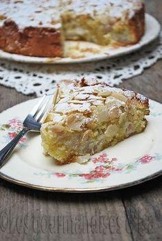sans gluten, amandes, gâteau sans gluten, poires, extrait d'amandes, zeste de citron, farine de riz,
