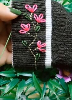 Best Embroidery Ideas,Best Embroidery Ideas What's embroidery ? In general, embroidery is really a special manner of textile handling, where company products such as cloth . Basic Embroidery Stitches, Hand Embroidery Videos, Embroidery Stitches Tutorial, Embroidery Flowers Pattern, Creative Embroidery, Simple Embroidery, Hand Embroidery Designs, Embroidery Ideas, Sewing Crafts
