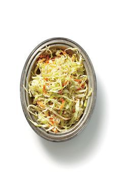 South Carolina Slaw - Coleslaw Recipes - Southernliving. Place 1/2 head thinly sliced cabbage (about 1 lb.) and 1 cup grated carrot in a bowl. Whisk together 1/2 cup apple cider vinegar, 1/4 cup sugar, 1/4 cup vegetable oil, 2 Tbsp. Dijon mustard, 2 tsp. dry mustard, 1 tsp. celery seeds, 1 tsp. kosher salt, and 1/2 tsp. freshly ground black pepper in a saucepan until sugar dissolves