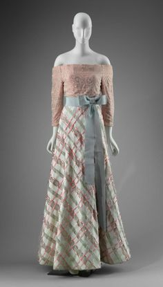 Ribbon Embellished Evening Dress, spring 1989Arnold Scaasivia...