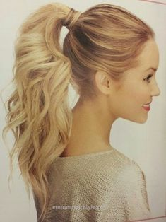 Wonderful Cute, Easy Ponytail Ideas – Summer and Fall Hairstyles for Long Hair  The post  Cute, Easy Ponytail Ideas – Summer and Fall Hairstyles for Long Hair…  appeared first on  Emme's Hairstyl ..