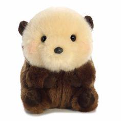 Aurora Rolly Pet Smiles Sea Otter – The Animal Kingdom – Monkey Stuffed Animal Fox Stuffed Animal, Cute Stuffed Animals, Cute Animals, Pet 5, Otters Cute, Kawaii Plush, Pet Pigs, Sea Otter, Plush Animals
