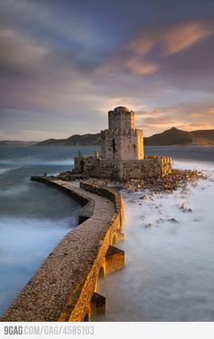 Epicness in Methoni, Greece