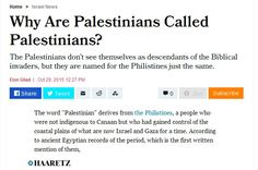 CONSERVATIVE COMMENTS AND OPINION (From the U.S. Territory of Puerto Rico): DID A COUNTRY NAMED PALESTINE EXIST EVER?