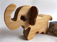 Elephant Wooden Toy