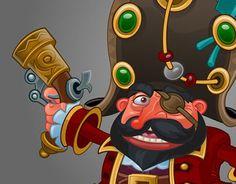 "Check out new work on my @Behance portfolio: ""Pirate black beard"" http://on.be.net/1IxUoQ5"
