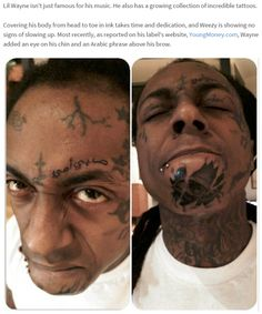 Lil Wayne, Drake Add Some Insane Tattoos