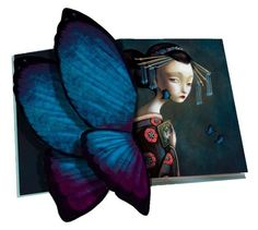 Butterfly pop up book