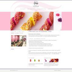 Le joli site web de la boulangerie pâtisserie Diamande à Paris, France / The nice website of the bakery Diamande in Paris, France http://www.diamande.fr/