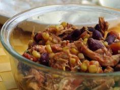 Easy Crock Pot Salsa Chicken