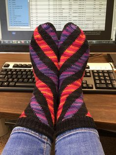 Ravelry: Project Gallery for Astoria Socks pattern by Anne Berk