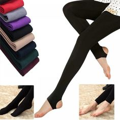 Thick Leggings, Women's Leggings, Warm Pants, Perfect Legs, Kinds Of Clothes, Winter Springs, Soft Fabrics, Fashion Women, Spring Fashion