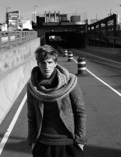 scarfed.