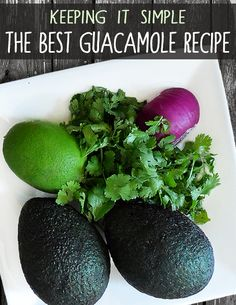 My favorite guacamole recipe