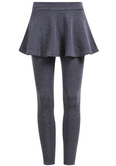 Shop Grey Slim Pleated Skirt Leggings online. Sheinside offers Grey Slim Pleated Skirt Leggings & more to fit your fashionable needs. Free Shipping Worldwide!