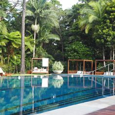 Find the busyness of Byron Bay too busy? Stay just out of town at The Byron at Byron Resort and Spa. The Byron, Byron Bay, Holiday Destinations, Resort Spa, Beach House, Places, Outdoor Decor, Travel, Lust