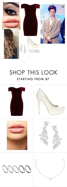 """""""Red Carpet w/ Taemin"""" by dancing-queen200 ❤ liked on Polyvore featuring Nicholas, Faith, LASplash, Kate Spade, ASOS and Cartier"""