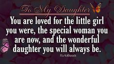 Love My Family, My Love, Daughter, My Daughter, Daughters