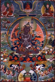 Garab Dorje (c.55 ce) First human Dzogchen adept, received transmission from Buddha Vajrasattva.