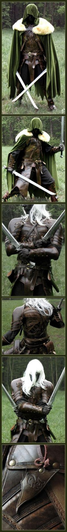 Elven Leather Armor by mildred
