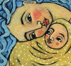 Artist : Julie Ann Bowden LA CRIANZA CON APEGO: Attachment parenting | el arte de criar