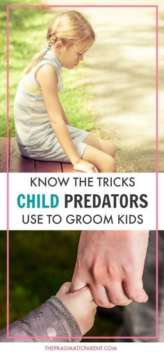 Red Flags and Warning Signs of a Child Predator. Common Tricks child predators use to groom and lure children, and deceive parents. Protect Your Children! Keep Kids Safe.
