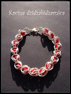 silver plated wire wrap bracelet