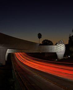 The Gold Line Bridge, California
