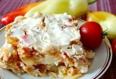 Szerb gyuvecs Mashed Potatoes, Food And Drink, Favorite Recipes, Meals, Ethnic Recipes, Desserts, Whipped Potatoes, Tailgate Desserts, Postres