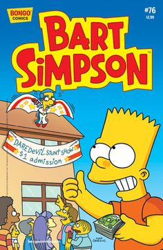 Bart Simpson Comics 91 Products Bart Simpson And Comic