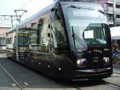 熊本市現代美術館 CAMK Blog::超低床電車「COCORO」のお披露目式がありました☆