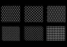 5a928b82af0 Seamless fishnet pattern. Seamfree vector chain link background ...