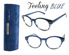 f0044671052 Carry your readers in style. Sleek case styling with a beautiful blue  shimmer. Magnetic